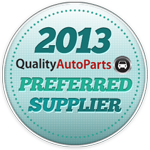 Quality Auto Parts Preferred Supplier 2013
