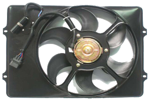 Radiator or Condenser Fan Motor/Assy